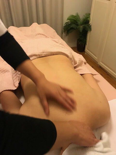 tui na massage in de praktjk Haarlem.